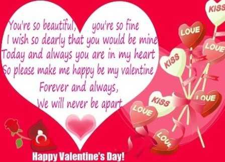 2013 Valentine Day Wishes Greeting Cards Wonderful Art Creation