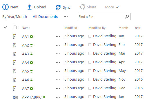 David M Sterling - Architect, Principal Consultant SharePoint