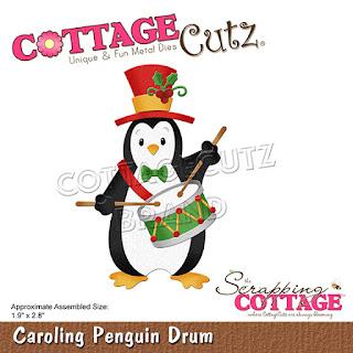 http://www.scrappingcottage.com/cottagecutzcarolingpenguindrum.aspx