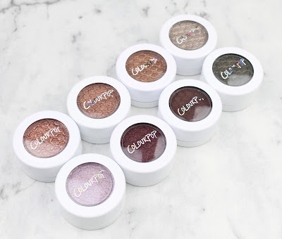 Colourpop Eye Shadow Sequin Weenie LaLa I <3 Heart This Eye Candy Porter Mittens Partridge