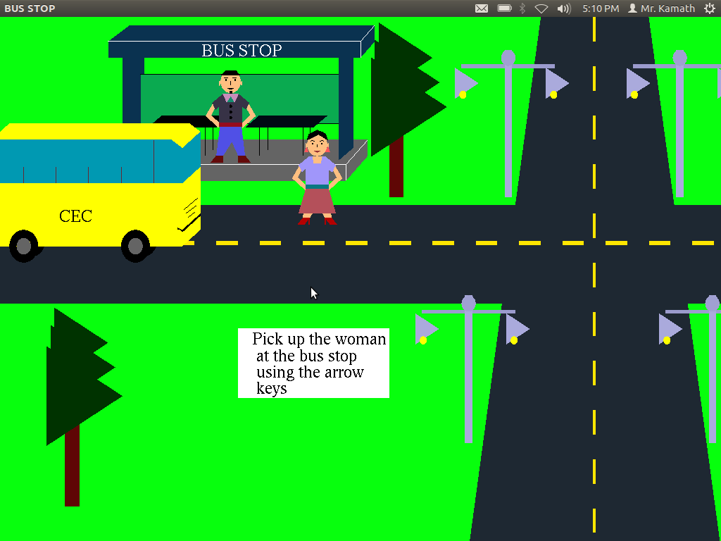 Graphics, Game Development and Digital Art: Moving Bus