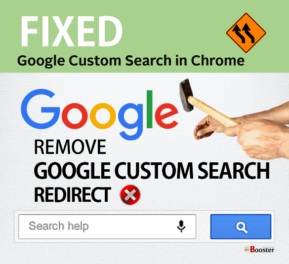 Remove Google Custom Search Redirect From Chrome
