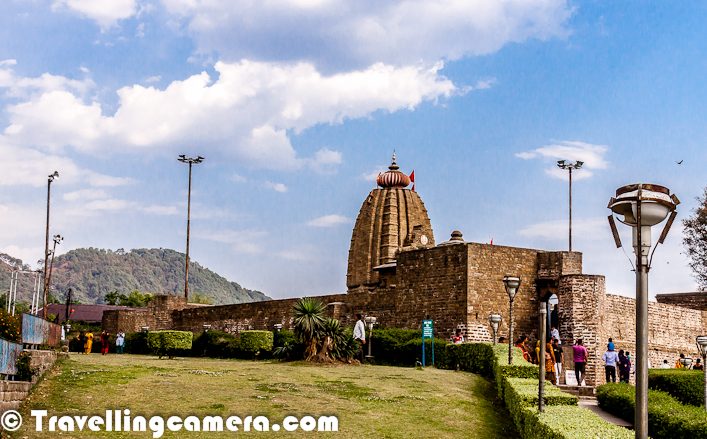 Baijnath is a quiet place and easily reachable from Palampur through wonderful drive through tea gardens. Baijnath has a shiva temple on a hill facing a water stream on one side and green landscape on other. There are many beautiful drives around Baijnath. Check this link to know more about Baijnath and interesting places around it.
