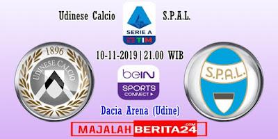 Prediksi Udinese vs SPAL — 10 November 2019