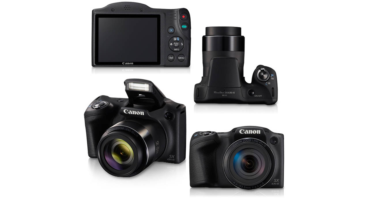 Canon PowerShot SX430 IS 20MP Digital Camera