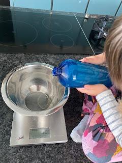Réalisation  de la crème lavante corps et cheveux pour enfants, DIY