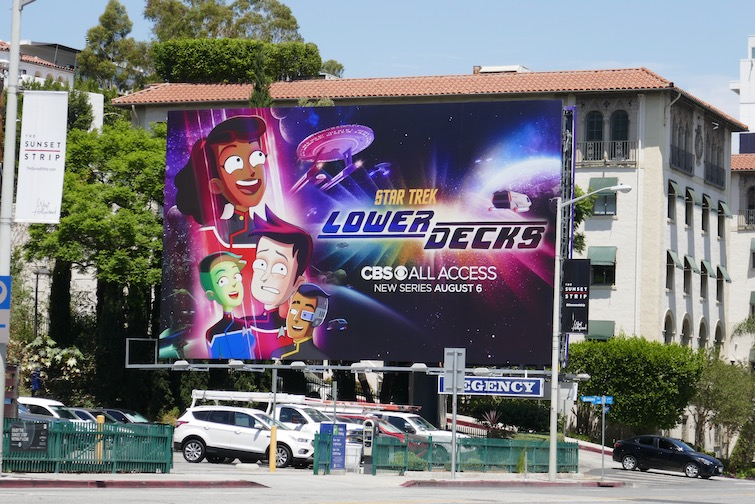 Star Trek Lower Decks billboard