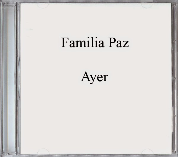 Familia Paz-Ayer-