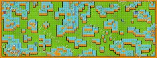 七龍珠Z2激神第十三章地圖