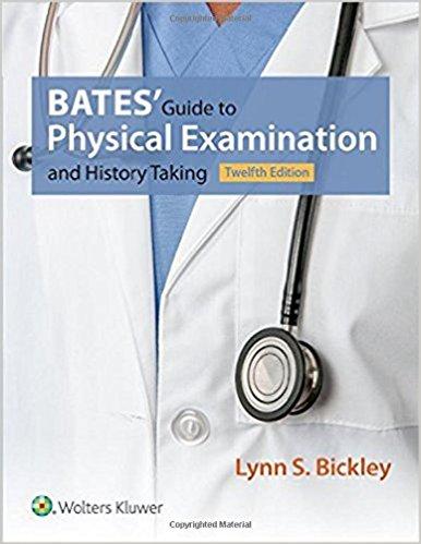Bate Hướng dẫn hỏi bệnh và khám lâm sàng 12/e