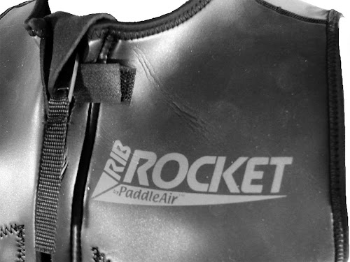 The Rib Rocket Pro by PaddleAir:  Detail