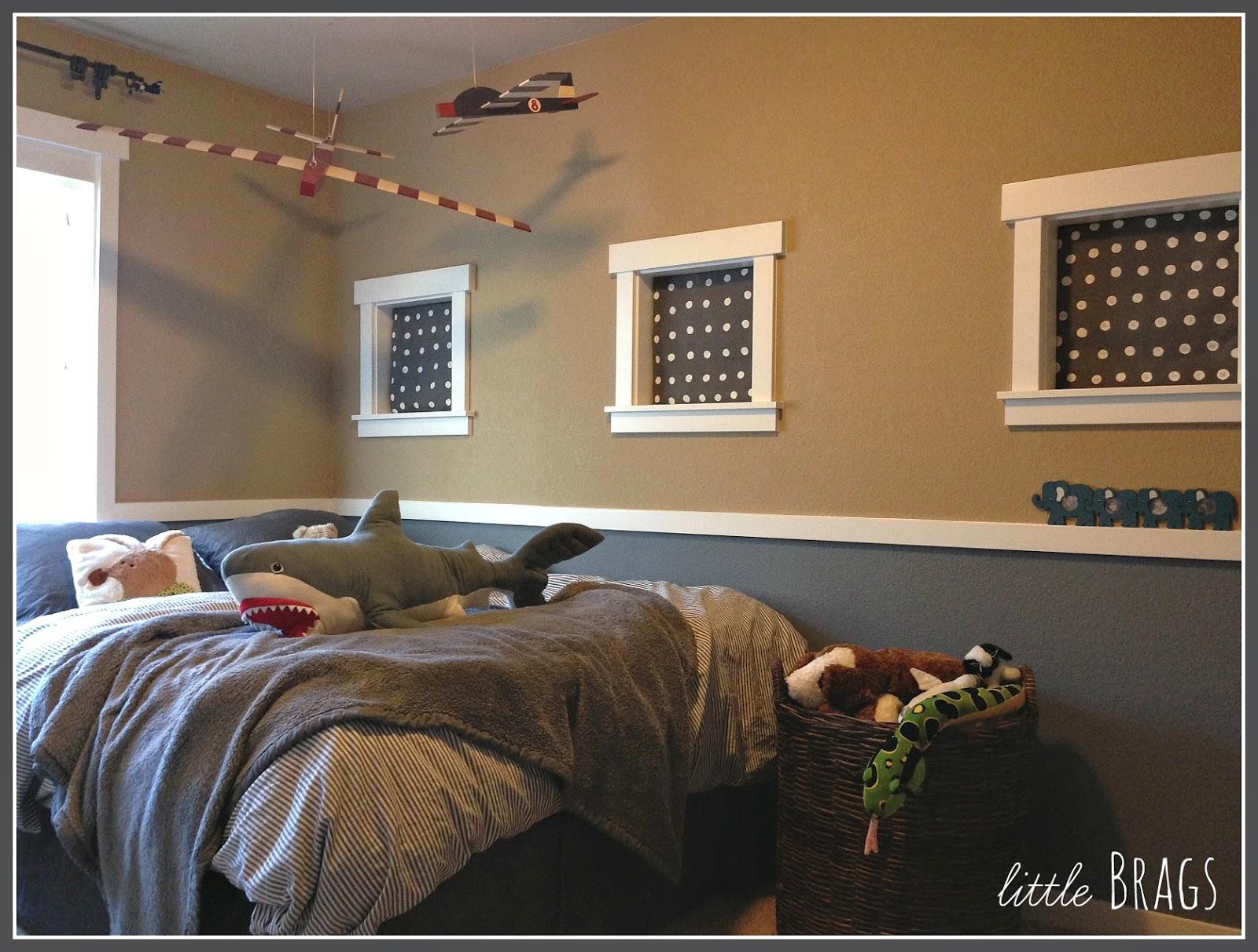 Little Brags Big Boy Bedroom Reveal With Ikea