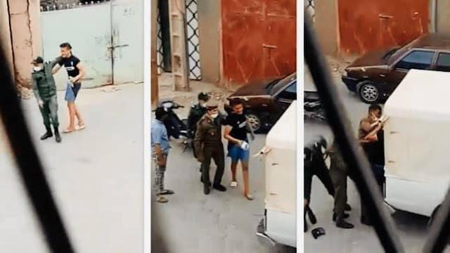 حالة الطوارئ : توقيف عنصرين من القوات المساعدة بمراكش وعرضهما على المجلس التأديبي بعد ظهورهما في مقطع فيديو يعنفان شخصًا✍️👇👇