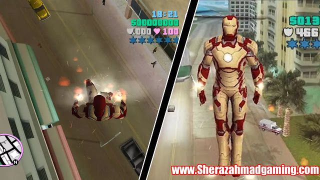 Download GTA Vice City Iron Man Mod | With Powers
