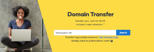 GoDaddy Domain Transfer Coupons