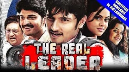Poster Of The Real Leader Full Movie in Hindi HD Free download Watch Online 720P HD
