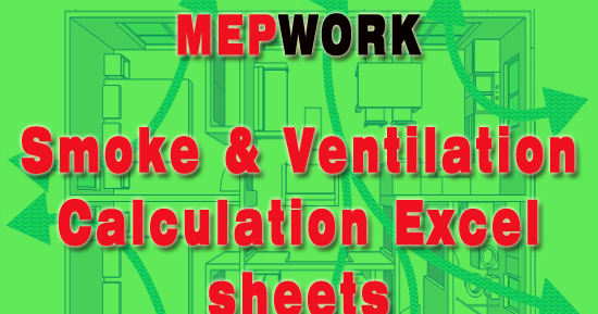 Smoke And Ventilation Calculation Excel Sheets