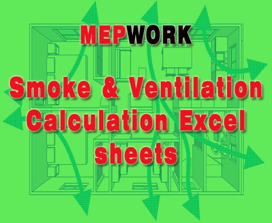 smoke and ventilation calculation excel