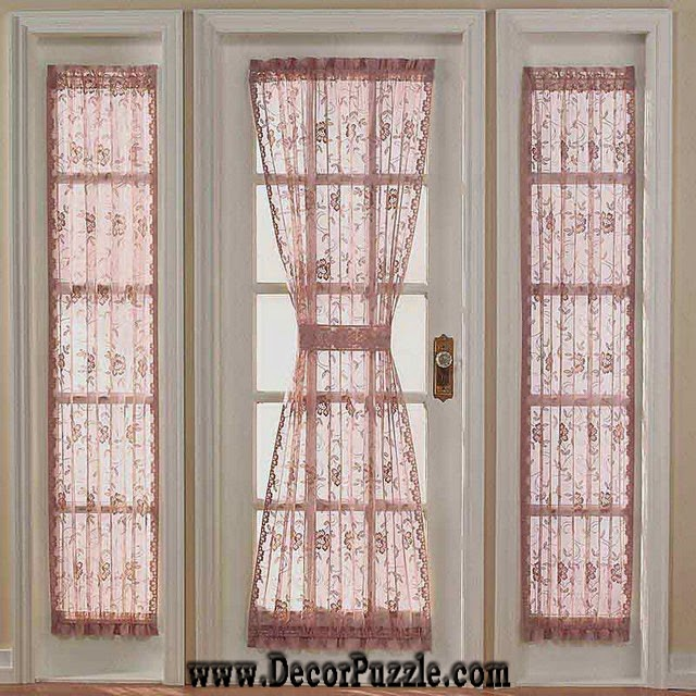 french door curtains and blinds, french style curtains for door