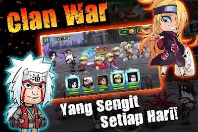 Shinobi Rebith: Ninja War MOD Unlocked v1.0.11 Apk + Data OBB Terbaru