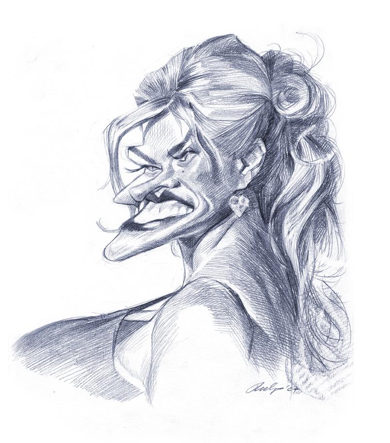 """""""Anna Nicole Smith"""" por Wouter Tulp"""
