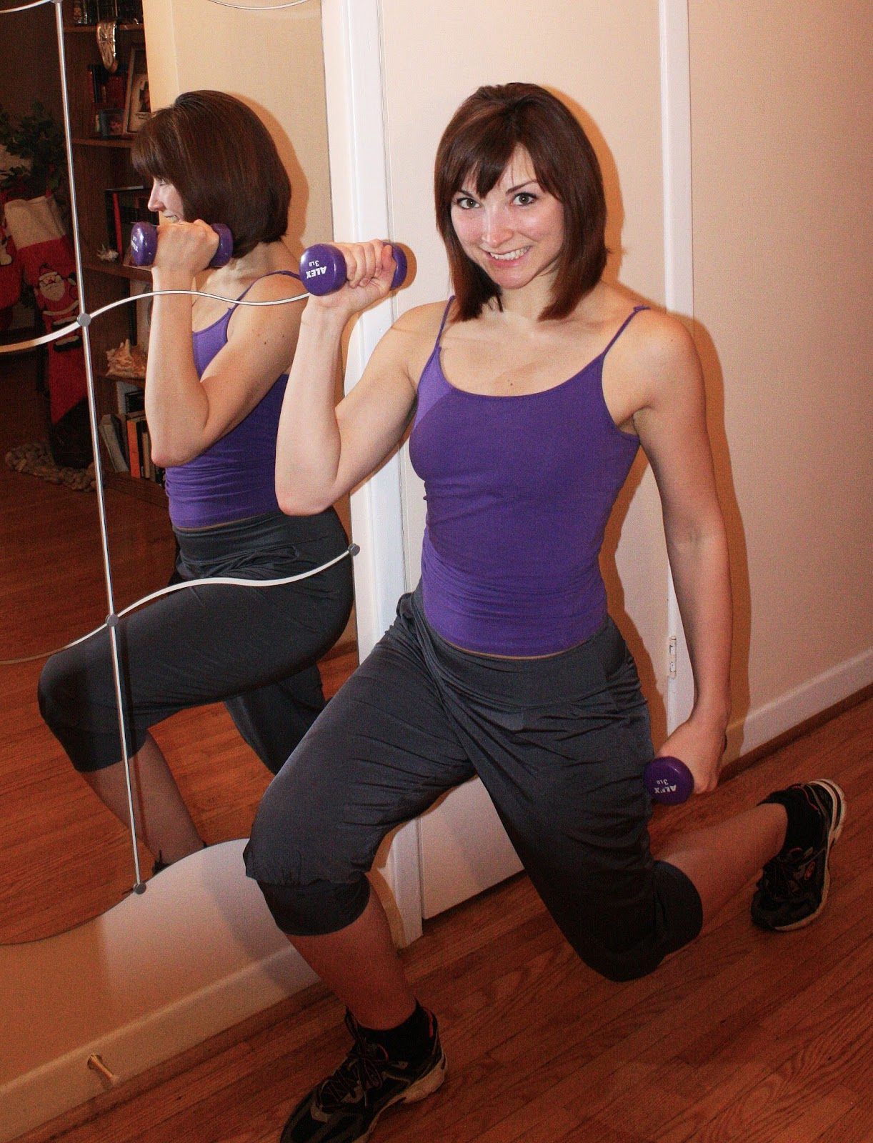 Perfect Asymmetry: Workout in Style: My New Yoga Pants.