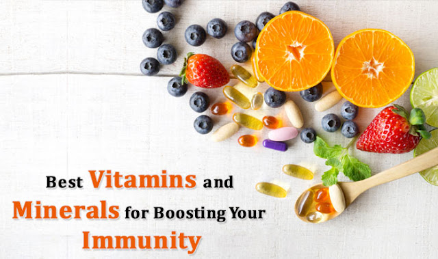 Best Vitamins and Minerals for Boosting Your Immunity
