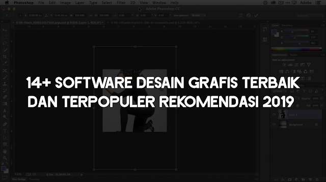 14+ Software Desain Grafis Terbaik dan terpopuler Rekomendasi 2019