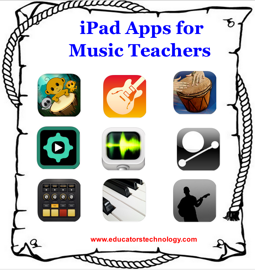 30 iPad Apps for Music Teachers | Educational Technology and