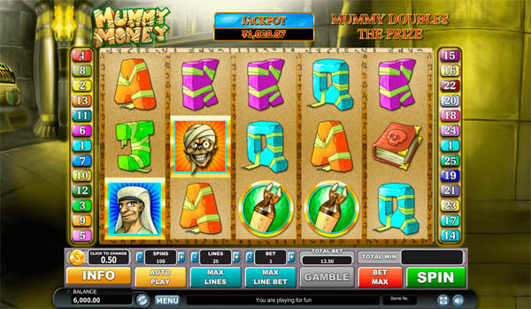 Main Gratis Slot Indonesia - Mummy Money Habanero