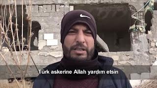 """أكراد سوريون يقدمون شكرهم للجيش التركي بعد تحررهم من ظلم """"قسد"""" (فيديو)"""