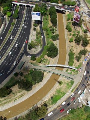 rio guaire desde vista aerea