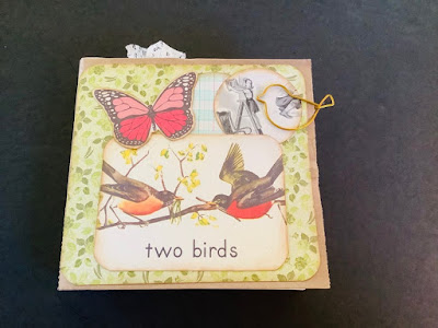Birds Paper Bag Junk Journal by Luci and Loley
