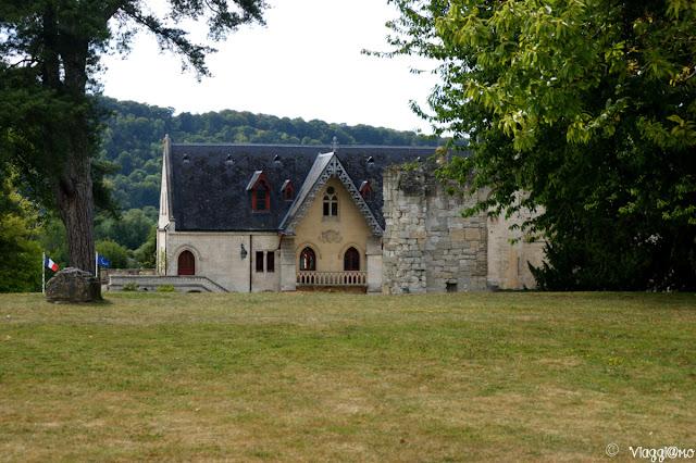 Edifici presenti nel parco dell'Abbaye de Jumieges