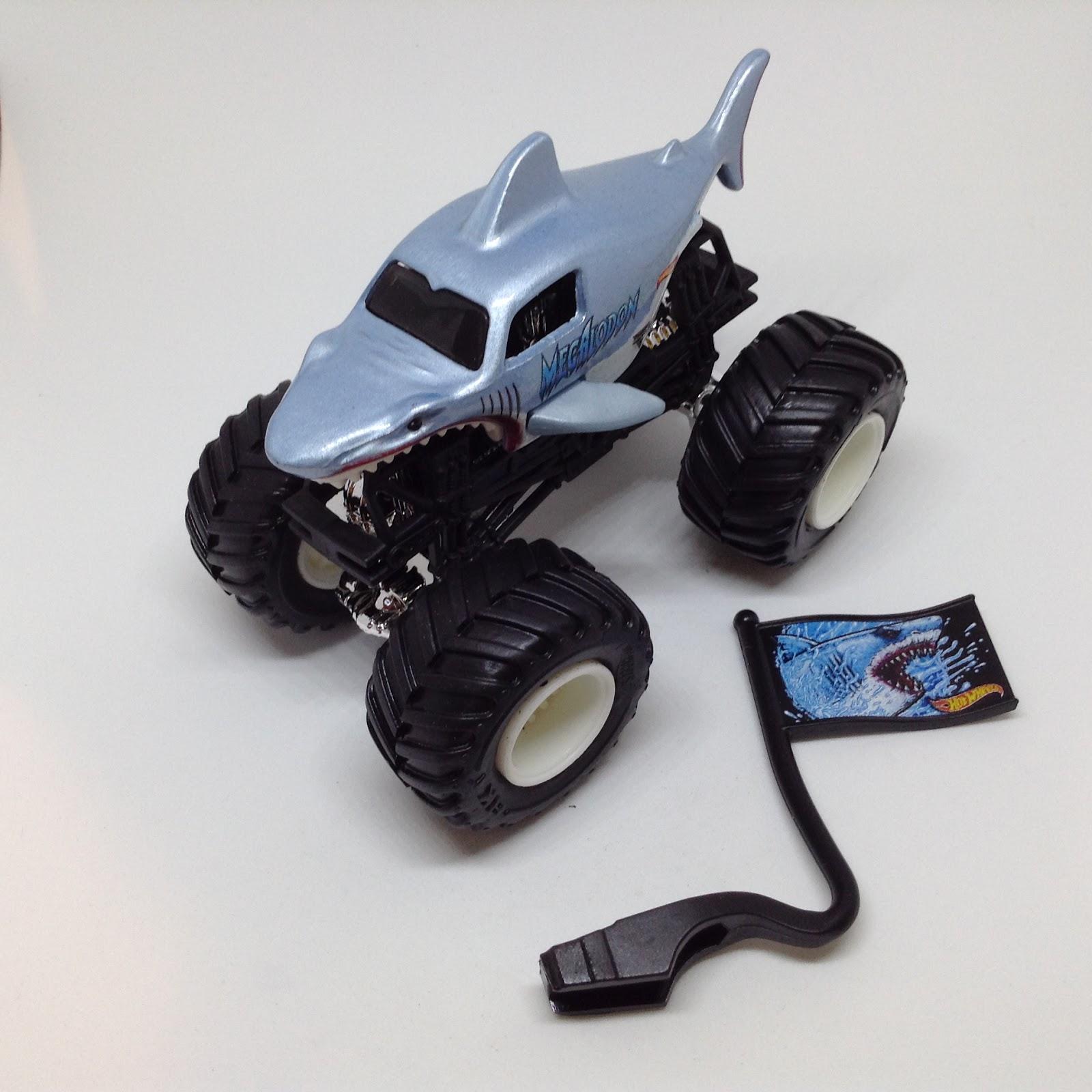 Julian's Hot Wheels Blog: Megalodon Monster Jam Truck ...