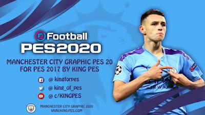 PES 2017 Graphic Menu Manchester City