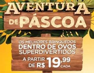Promoção Ri-Happy Páscoa 2020 Brinquedos Dentro de Ovos - Aventura de Páscoa