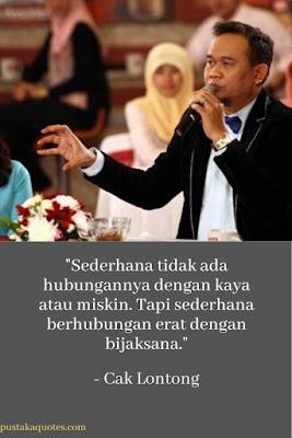 quotes cak lontong sederhana penuh makna dan bijak