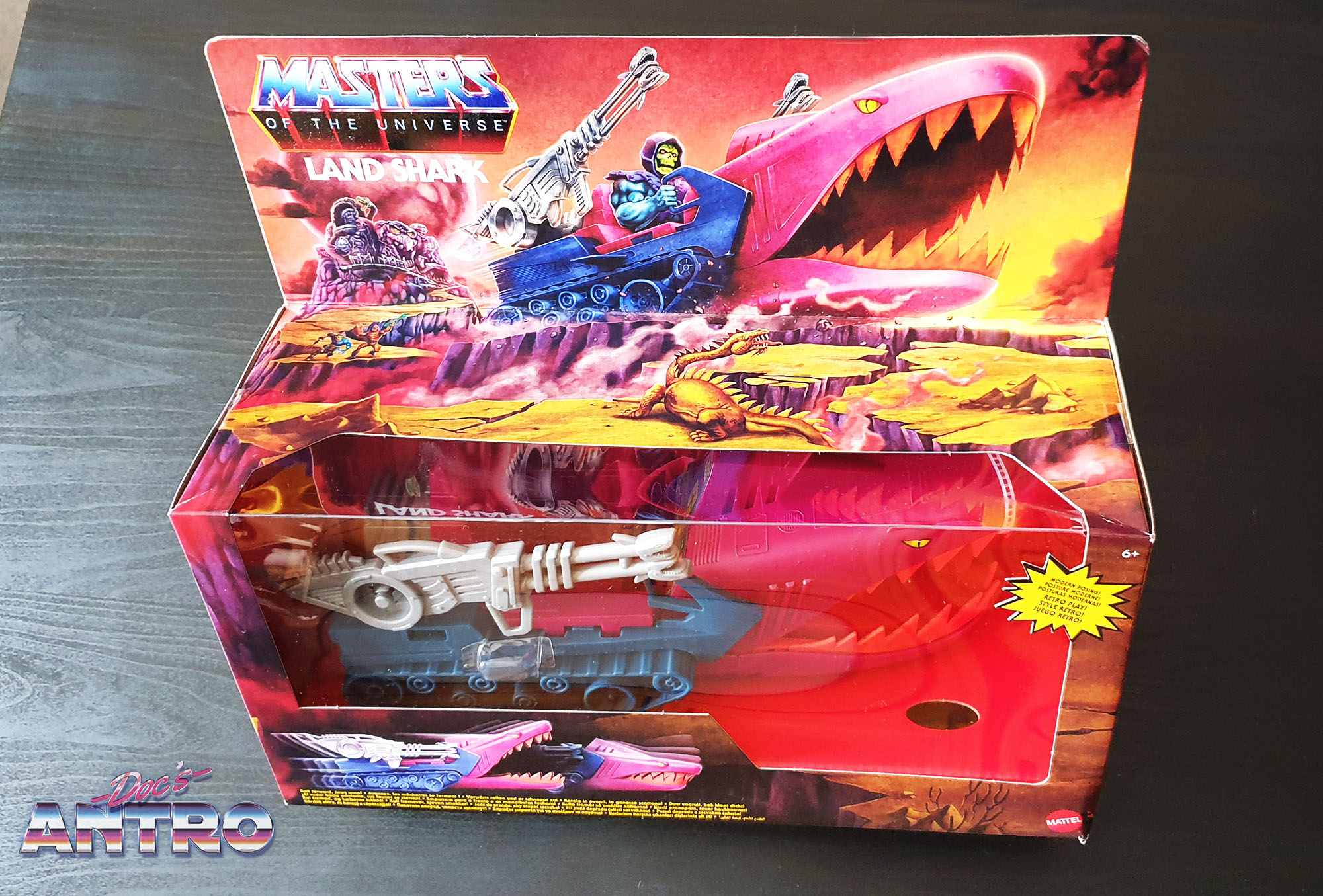 Masters of the Universe Origins Land Shark recensione review Antro
