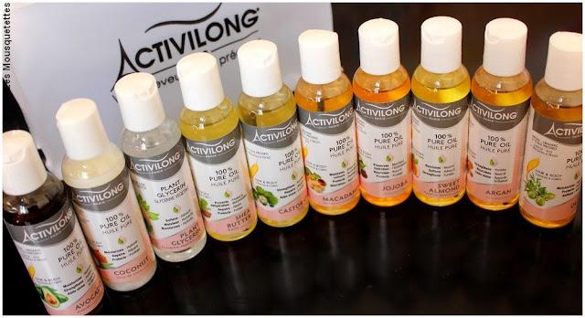Gamme Les extraits naturels Activilong - Blog beauté