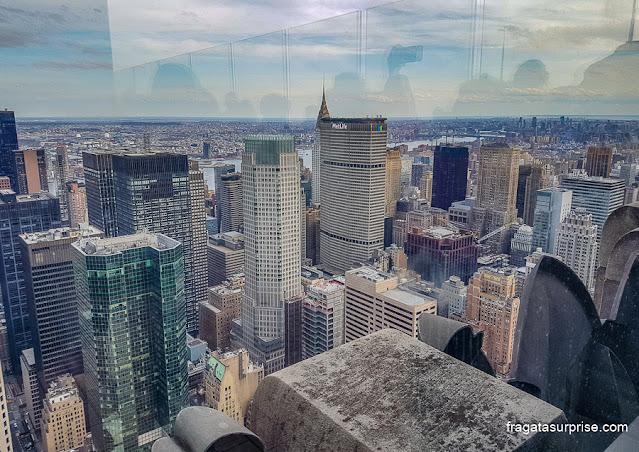 Nova York vista do Top of the Rock, Rockefeller Center