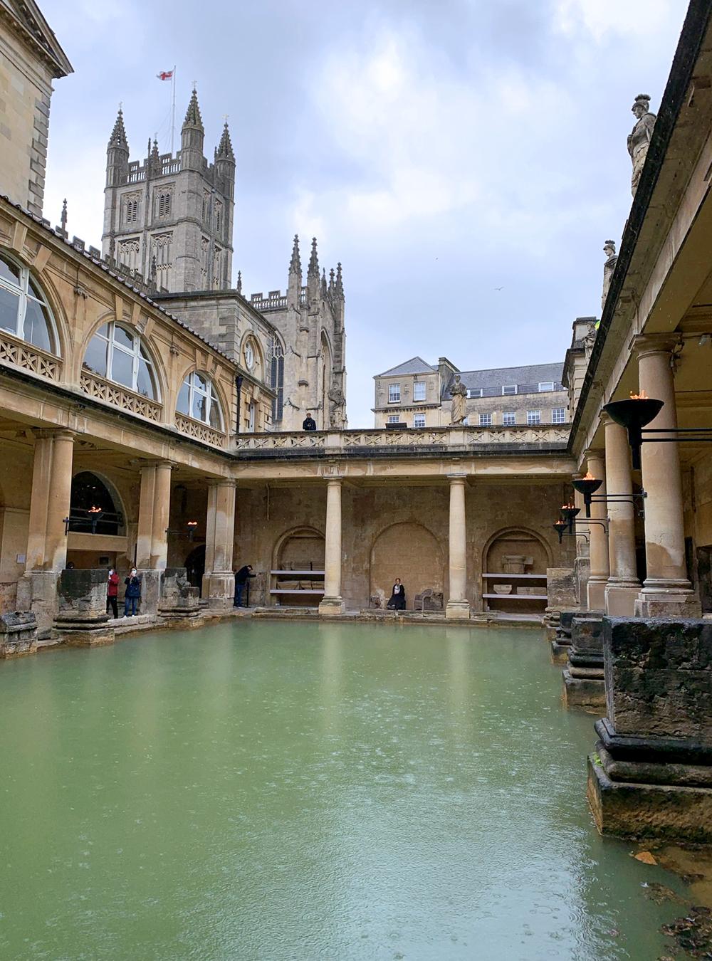 The Roman Baths, UNESCO World Heritage Site in England - Emma Louise Layla, UK travel & lifestyle blog
