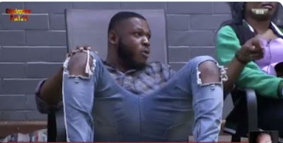 """#BBNaija: """"You Are Acting Like A Baby In Front Of A Girl, Go Wear Diaper"""" - Elo Blast Frodd"""