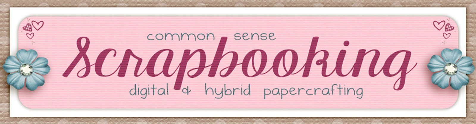 Common Sense Scrapbooking