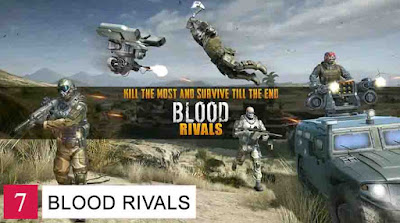 Game Battle Royale Offline Android Blood Rivals