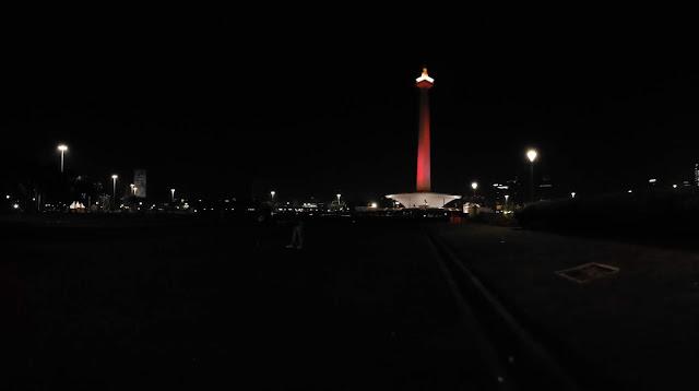 Ibu Kota Jakarta Malam Hari