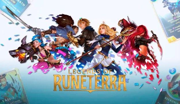 league of legends riot legends of runeterra