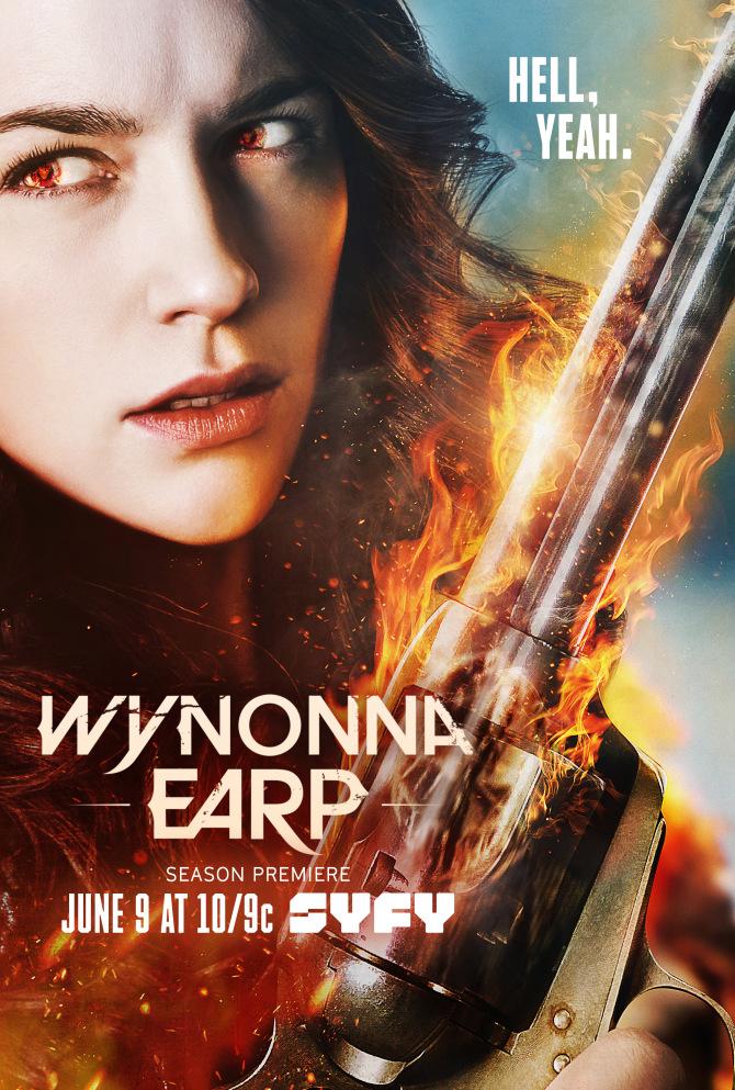 Wynonna Earp season 2 key poster
