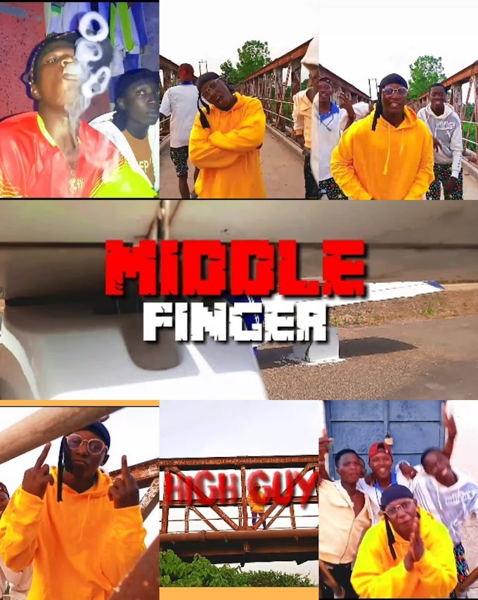 High Guy-Middle finger official video