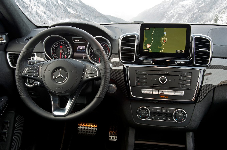 2017 Mercedes-Benz gls550 4matic interior